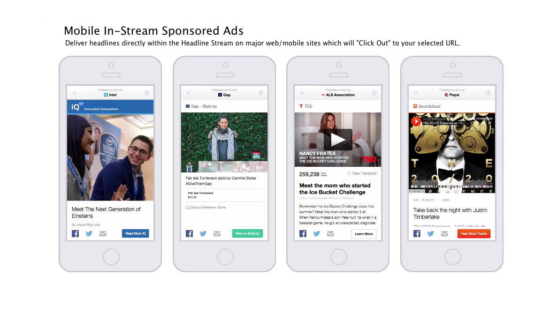 Mobile In Stream Native Ads